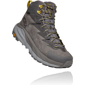 Hoka One One Kaha GTX Boots Heren, charcoal gray/green sheen